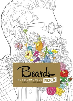 Beards rock coloring book   Book by Horacio Cassinelli   Official ...