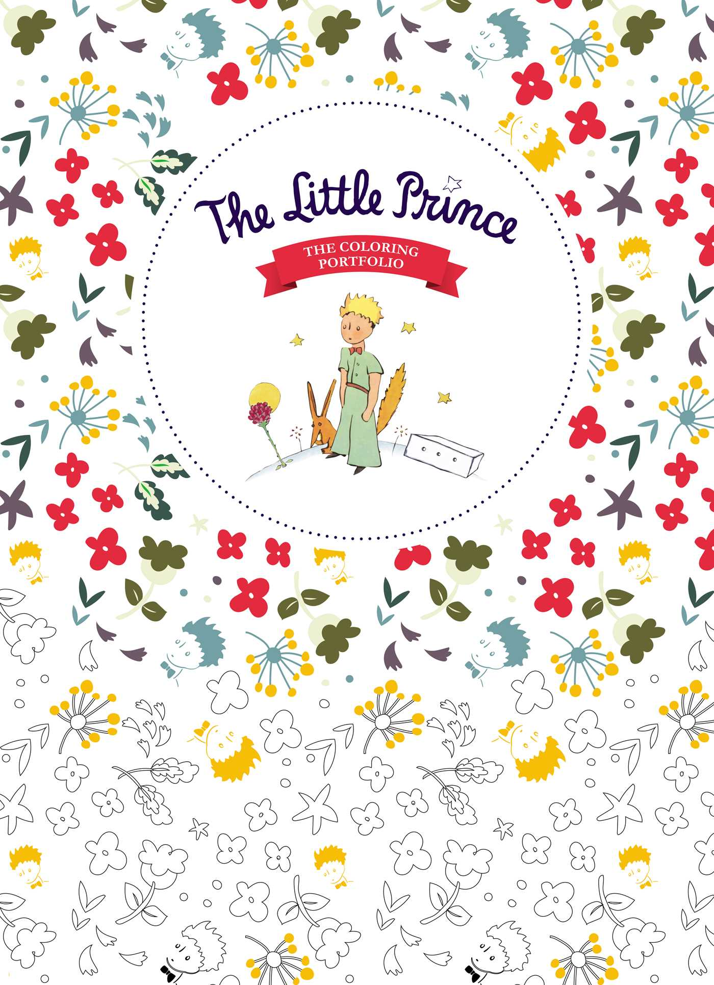 The coloring book - The Little Prince Coloring Book 9782374950143 Hr