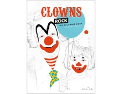 Clowns Rock: Coloring Book