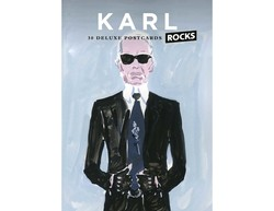 Karl Rocks: 30 Deluxe Postcard Set