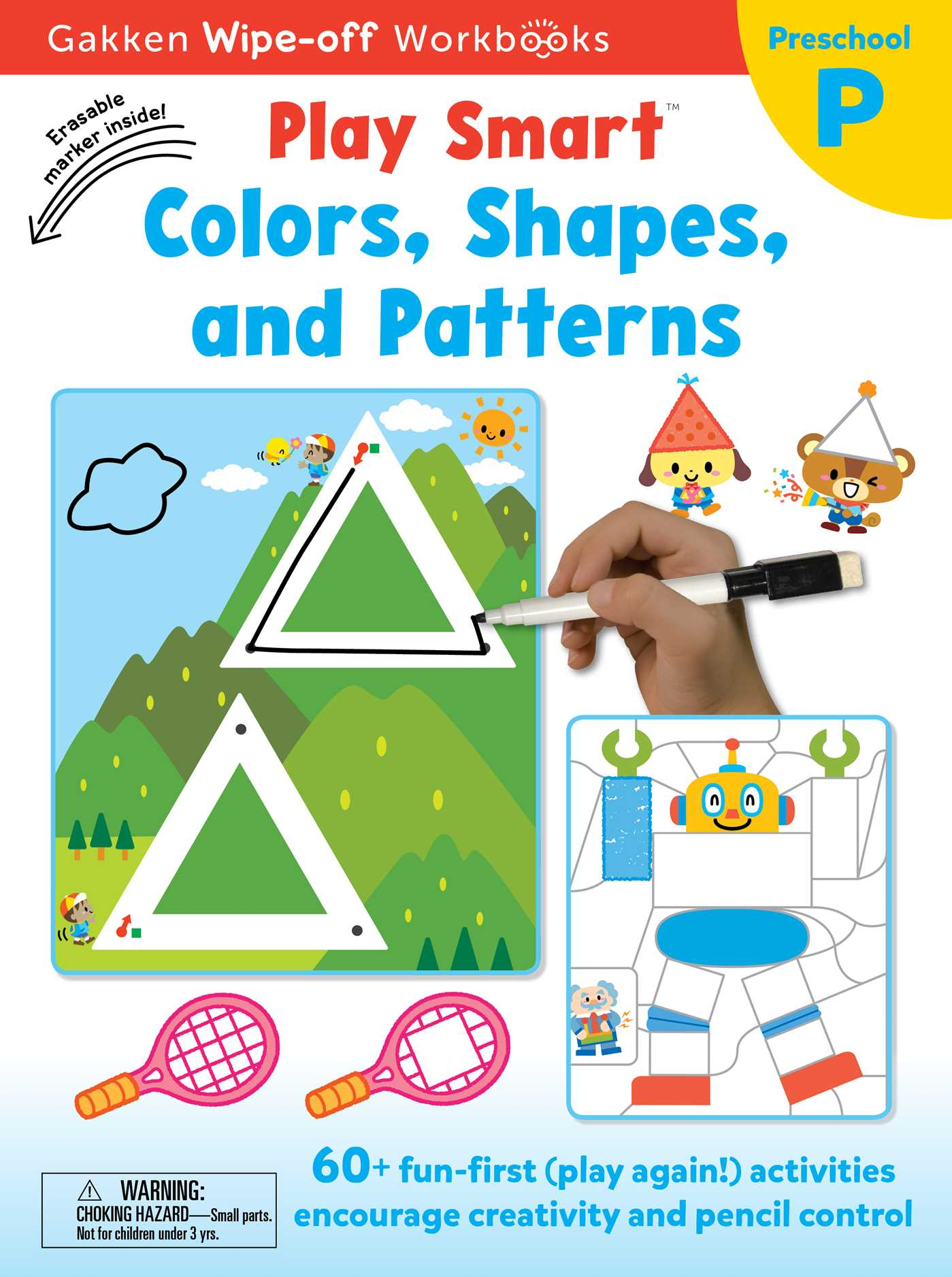 Play Smart Colors, Shapes, and Patterns | Book by Gakken early ...