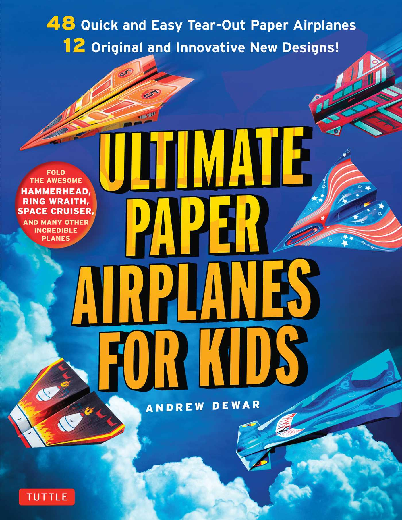 ultimate paper airplanes for kids 9784805313633 hr