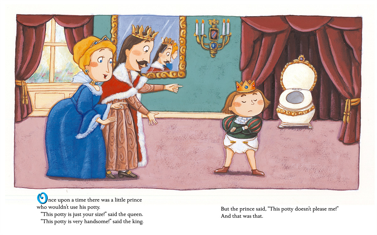 The prince and the potty 9780689878084.in01