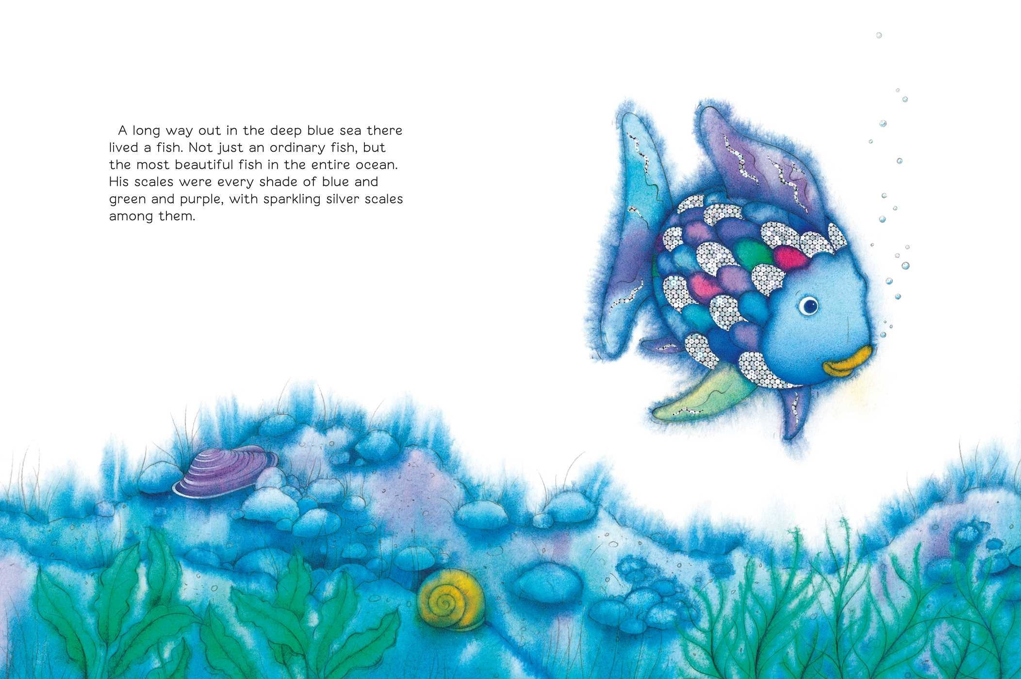 The rainbow fish big book book by marcus pfister for The rainbow fish