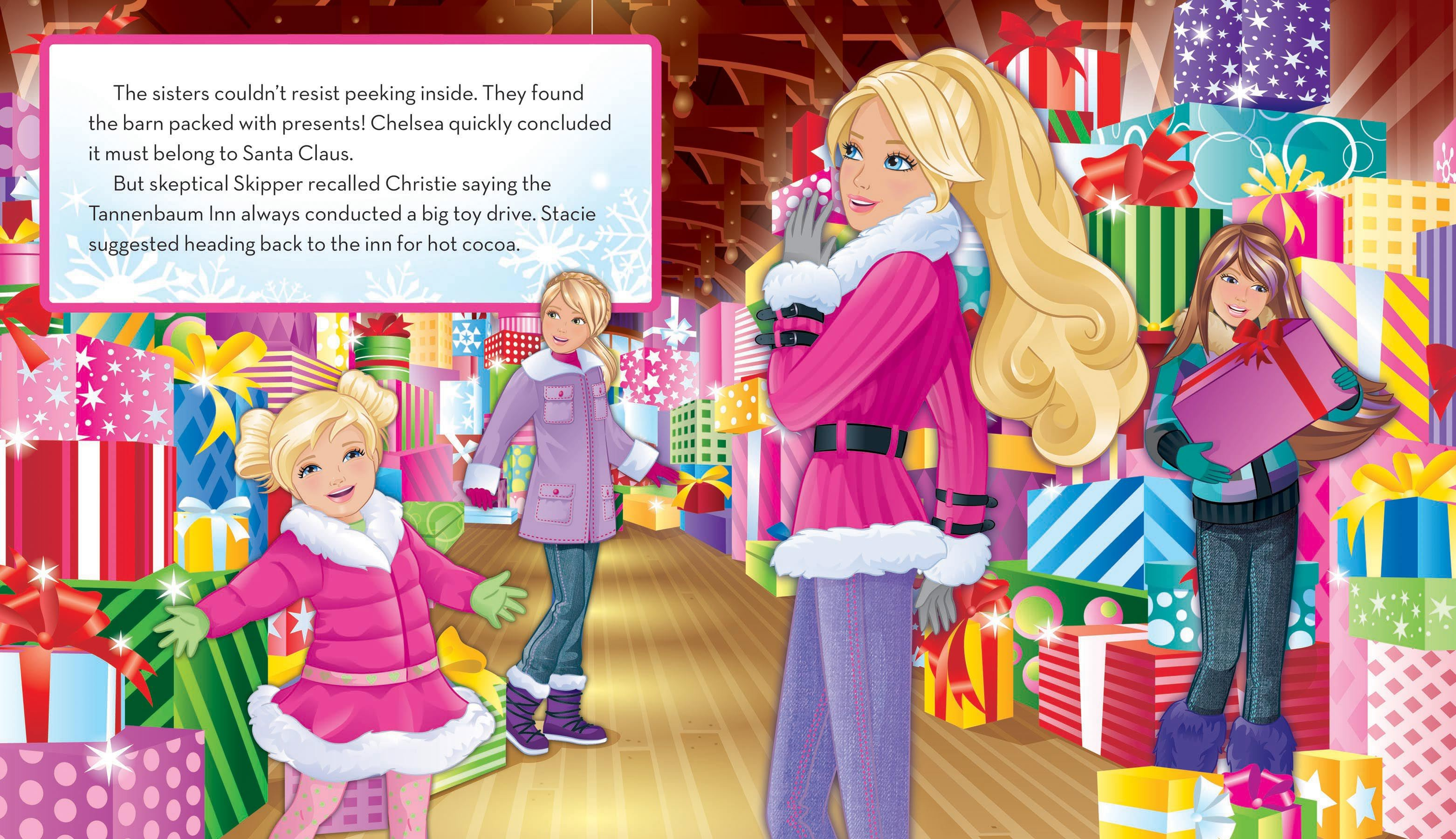 Barbie: A Perfect Christmas | Book by Barbie™, Justine Fontes ...