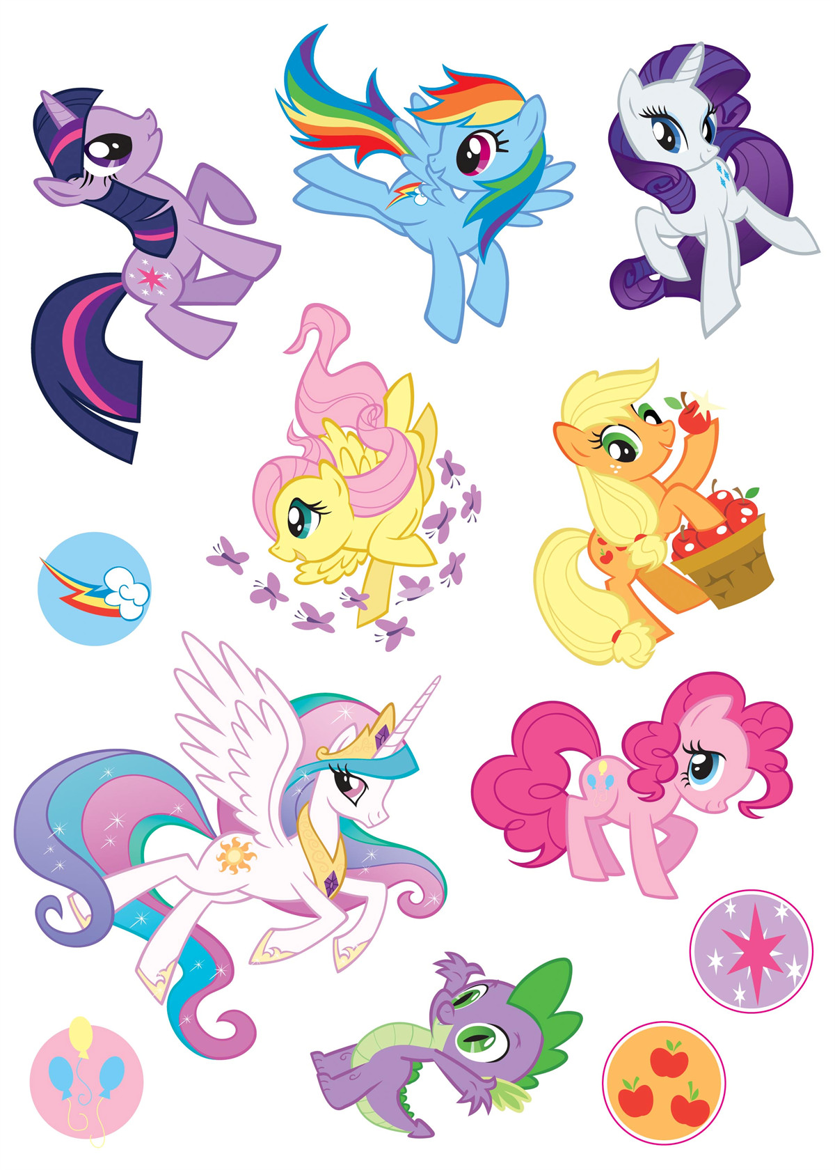 My Little Pony Coloring Pages Cutie Mark : Sophie turns my little pony birthday party friendship