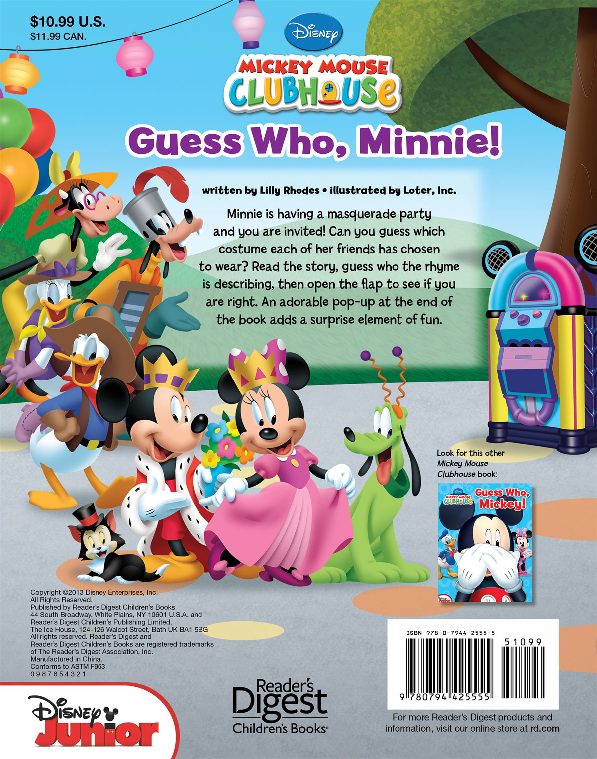 Disney guess who minnie! 9780794425555.in02