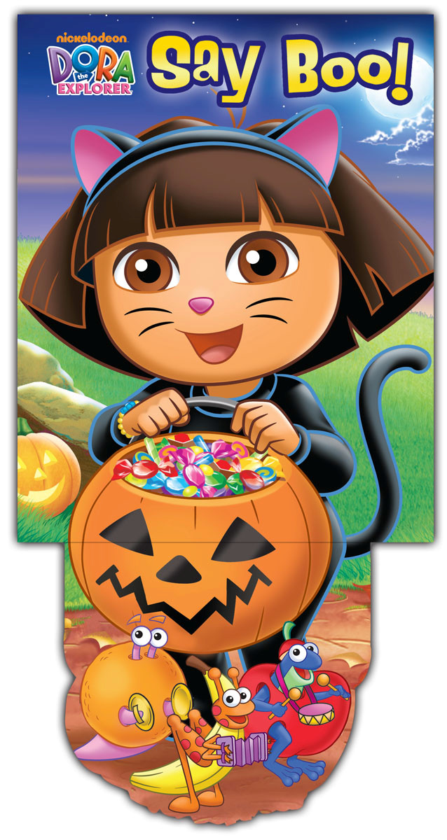 Dora the explorer say boo! 9780794428570.in01