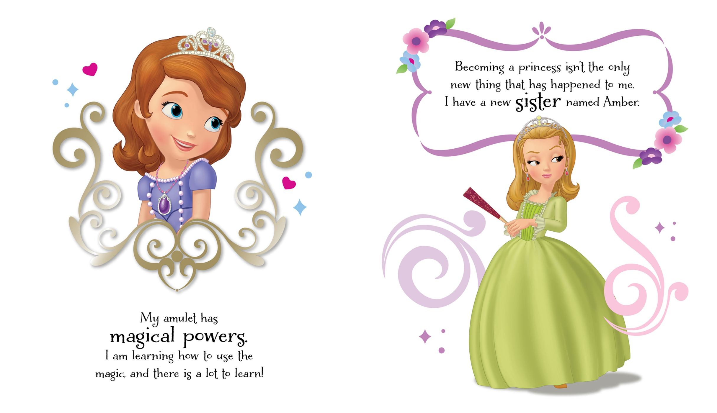 Disney Sofia The First Becoming A Princess Book By