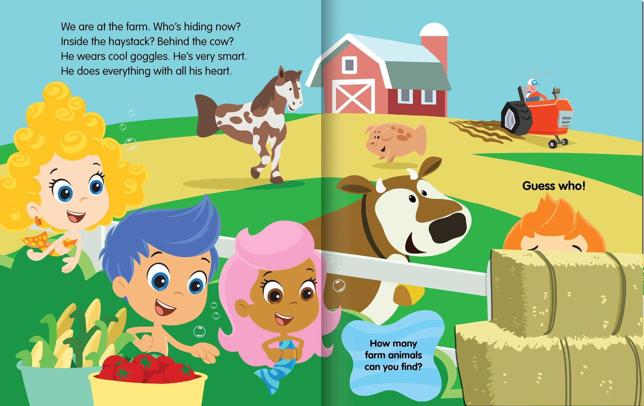 bubble guppies guess who u0027s fin tastic book by bubble guppies