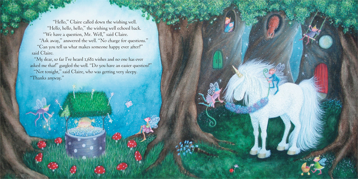 Claire and the unicorn happy ever after 9781416908159.in03