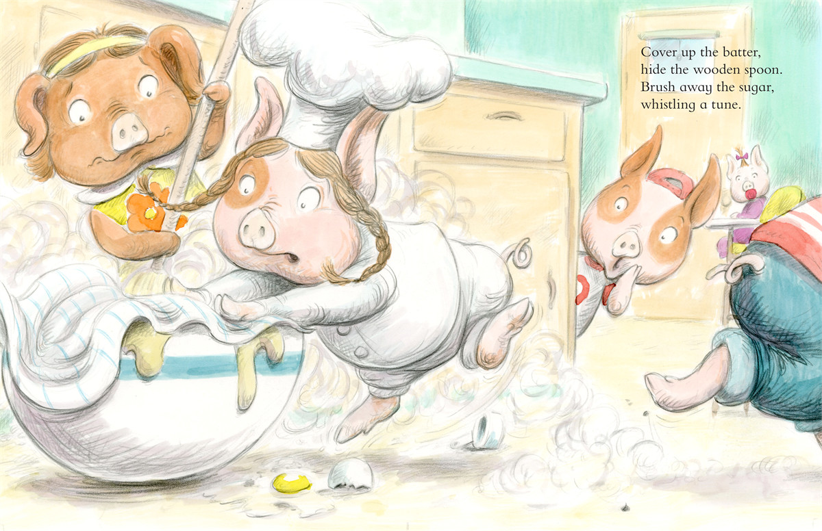 Piggies in the kitchen 9781416937876.in01