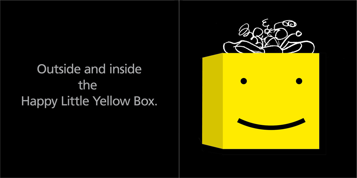 The happy little yellow box 9781416940968.in01
