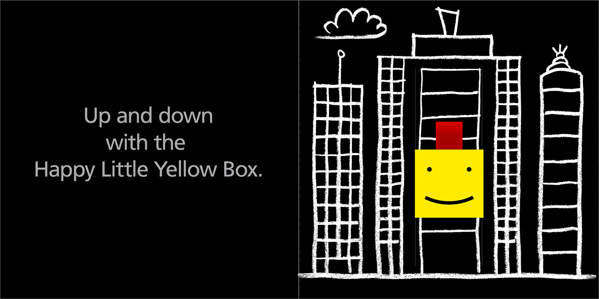 The happy little yellow box 9781416940968.in02