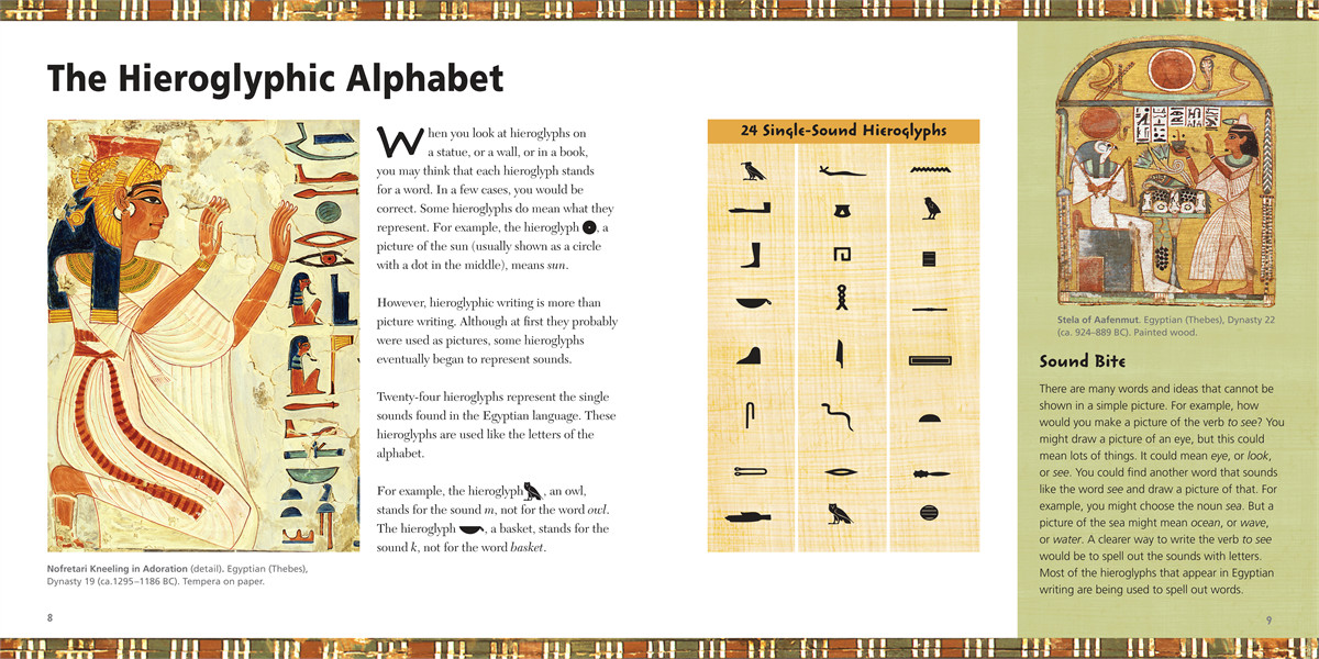 Fun with hieroglyphs 9781416961147.in02