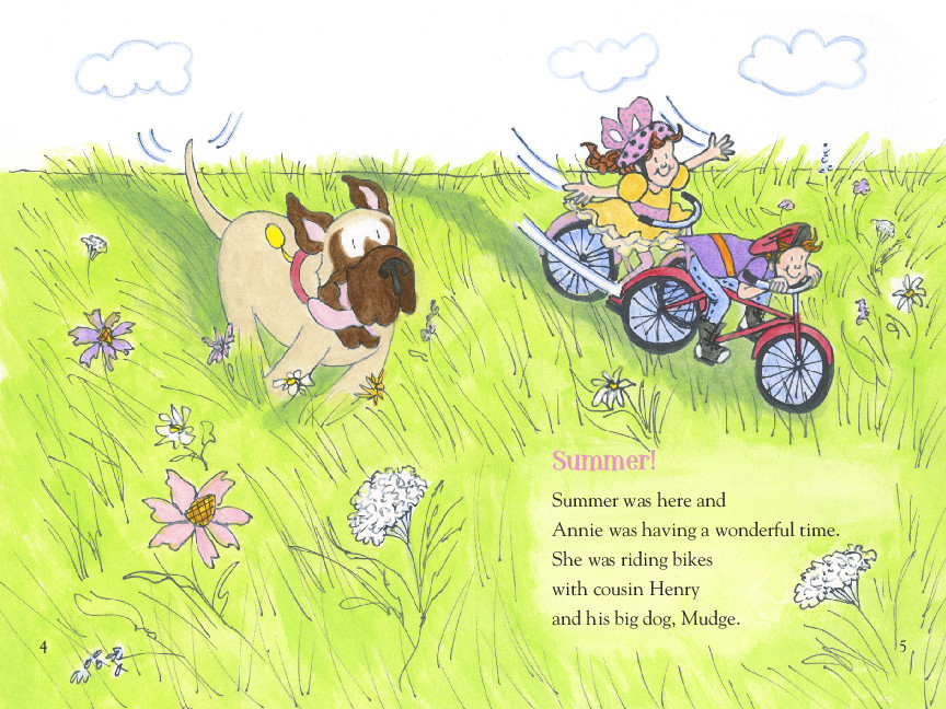 Annie and snowball and the book bugs club 9781416972013.in01
