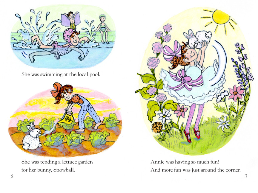 Annie and snowball and the book bugs club 9781416972013.in02