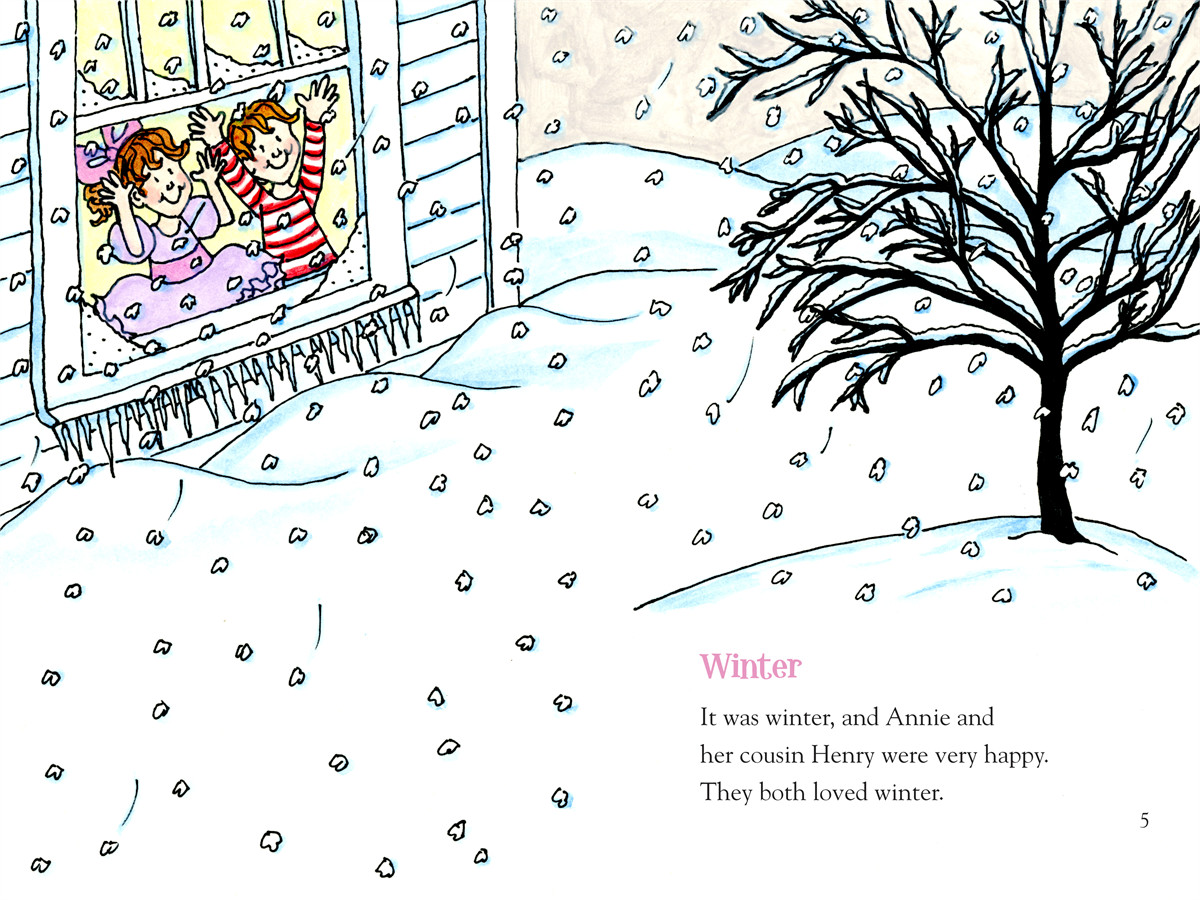 Annie and snowball and the wintry freeze 9781416972068.in01