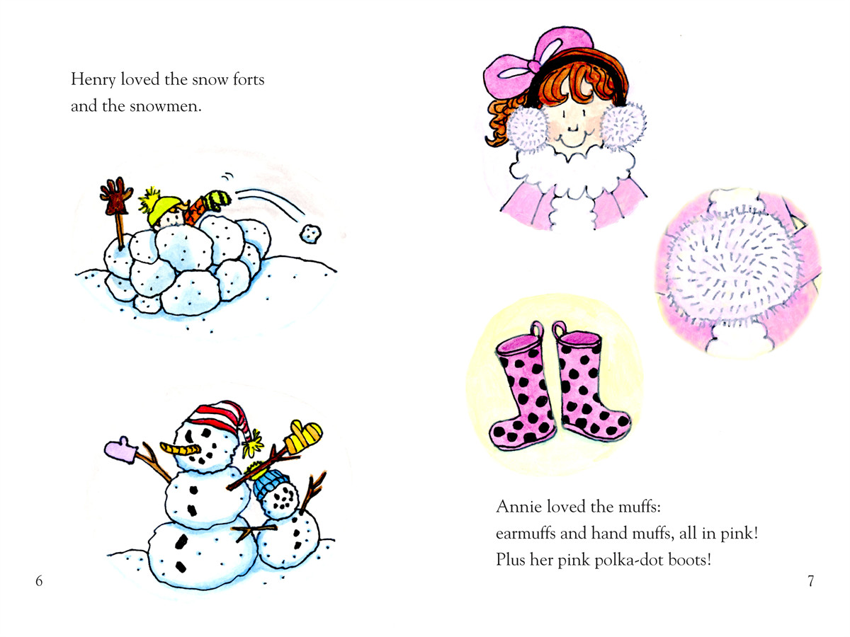 Annie and snowball and the wintry freeze 9781416972068.in02