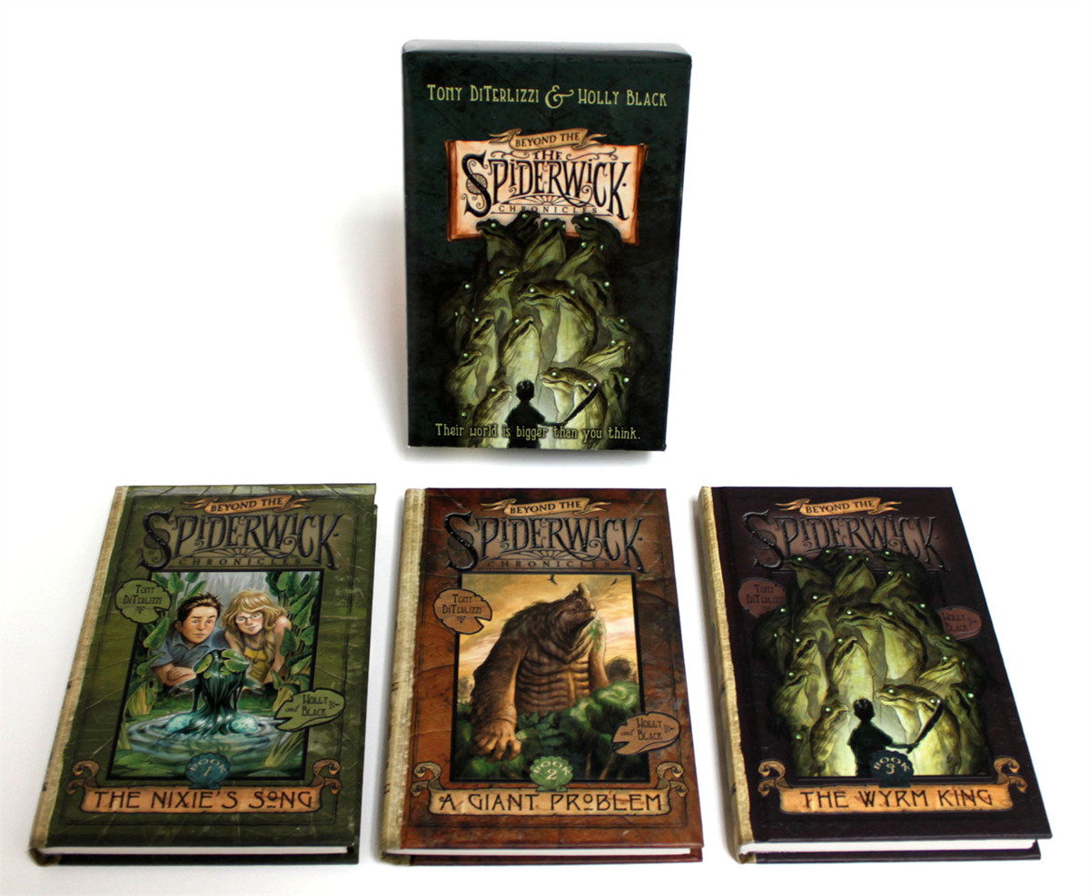 Beyond the spiderwick chronicles (boxed set) 9781416990116.in02