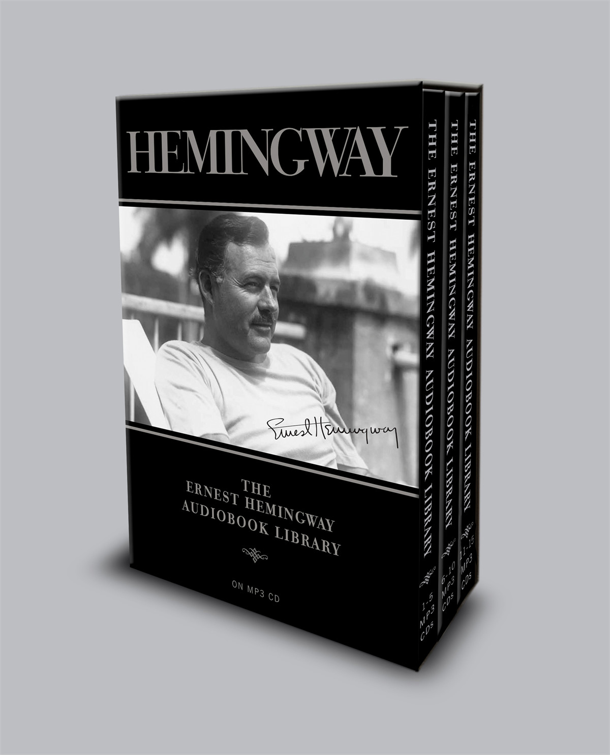 The-ernest-hemingway-audiobook-library-9781442359444.in01