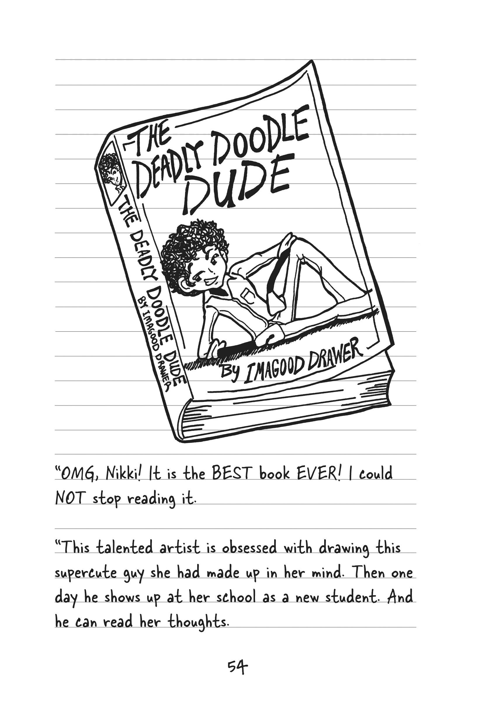 Coloring pages for dork diaries -  Dork Diaries 3 1 2 9781442422339 In02