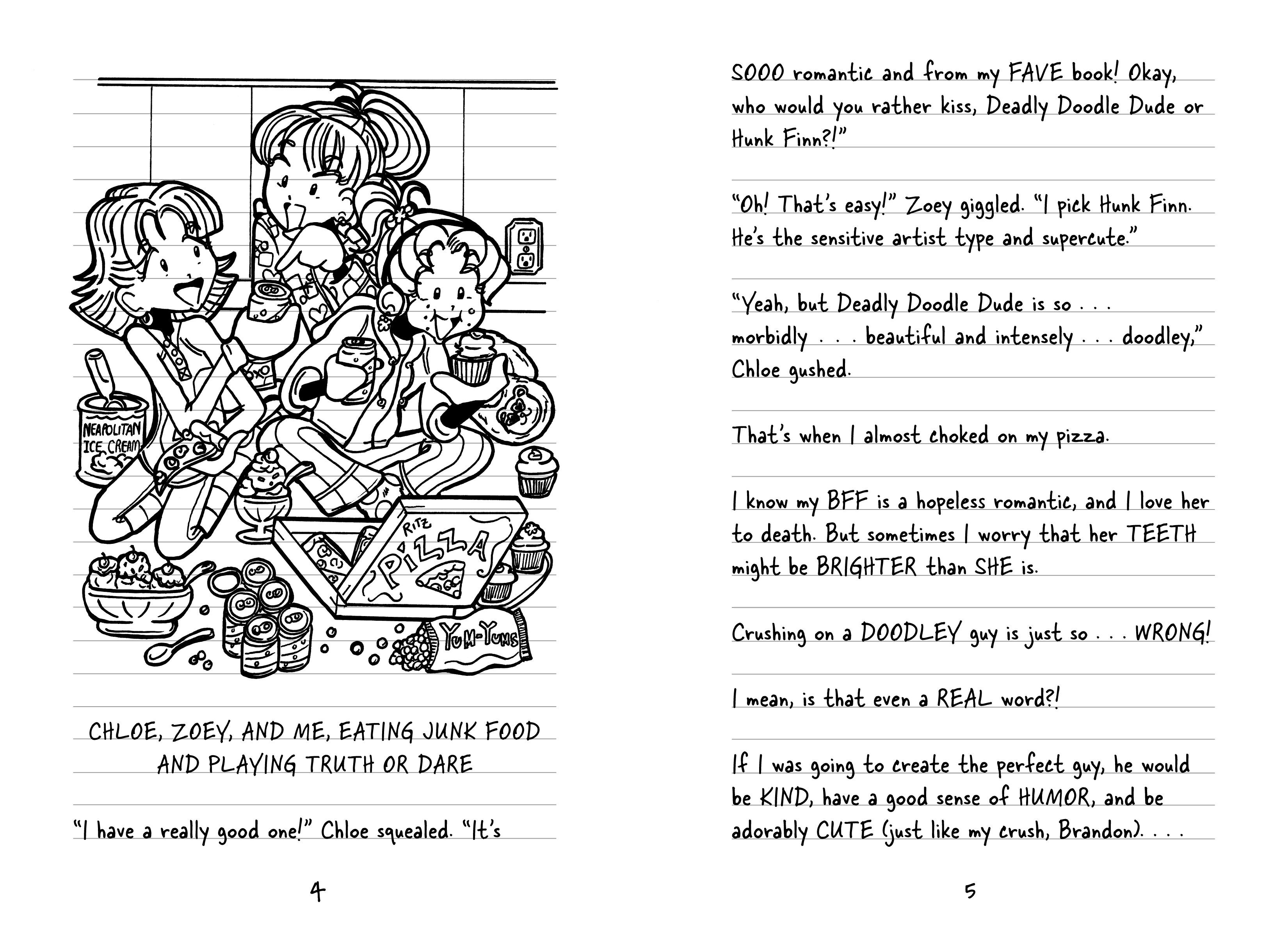 Coloring pages for dork diaries -  Dork Diaries 5 9781442449619 In03