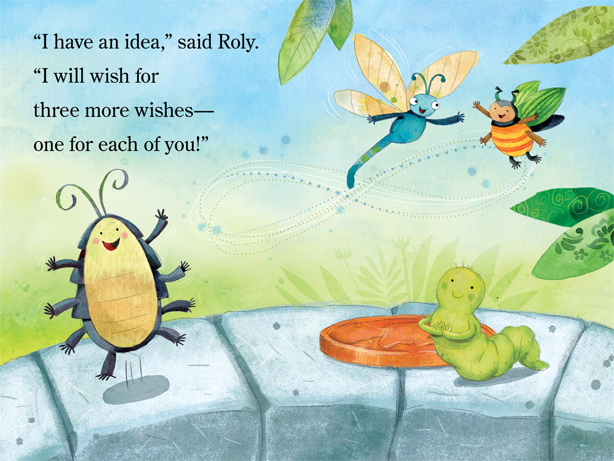 Inch and roly make a wish 9781442452763.in01