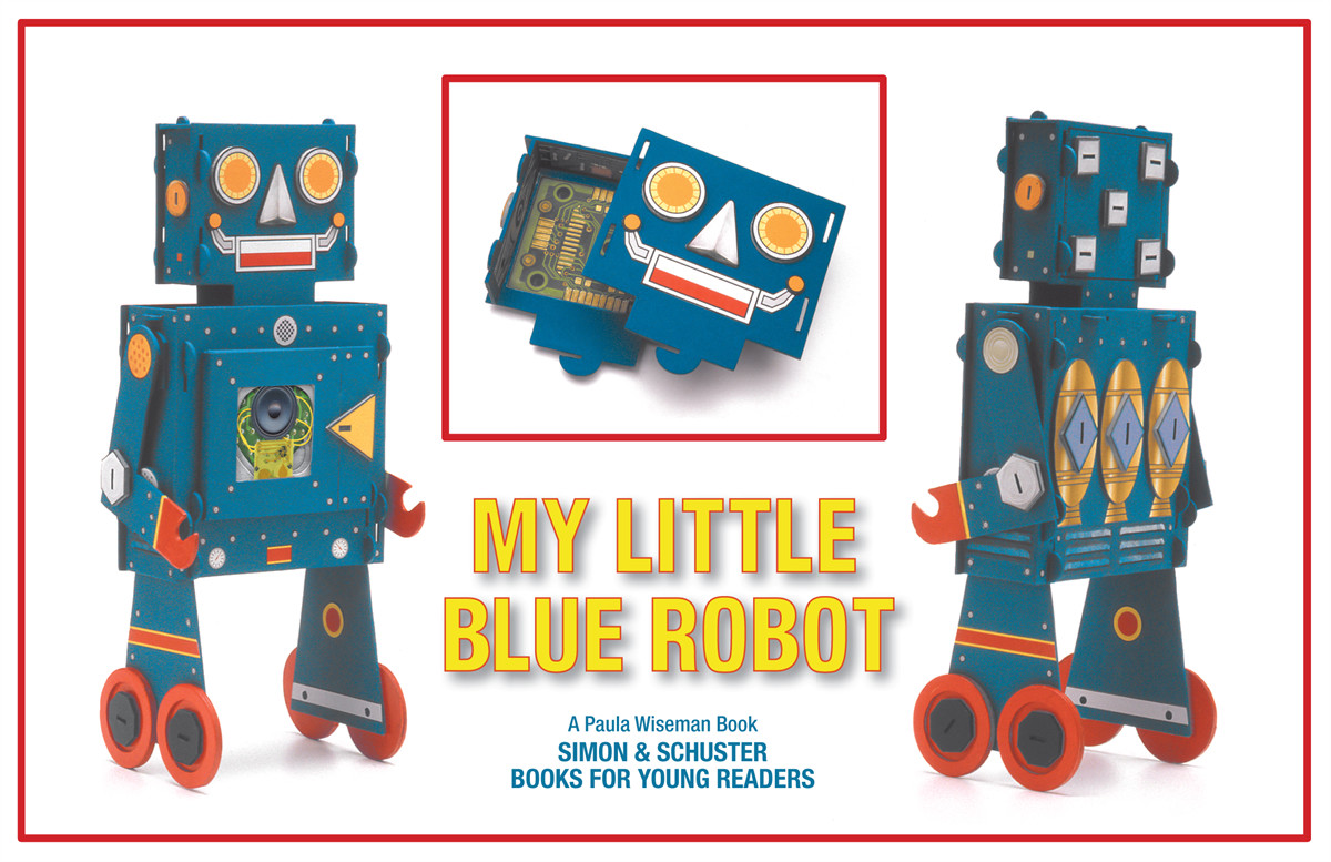 My little blue robot 9781442454163.in01