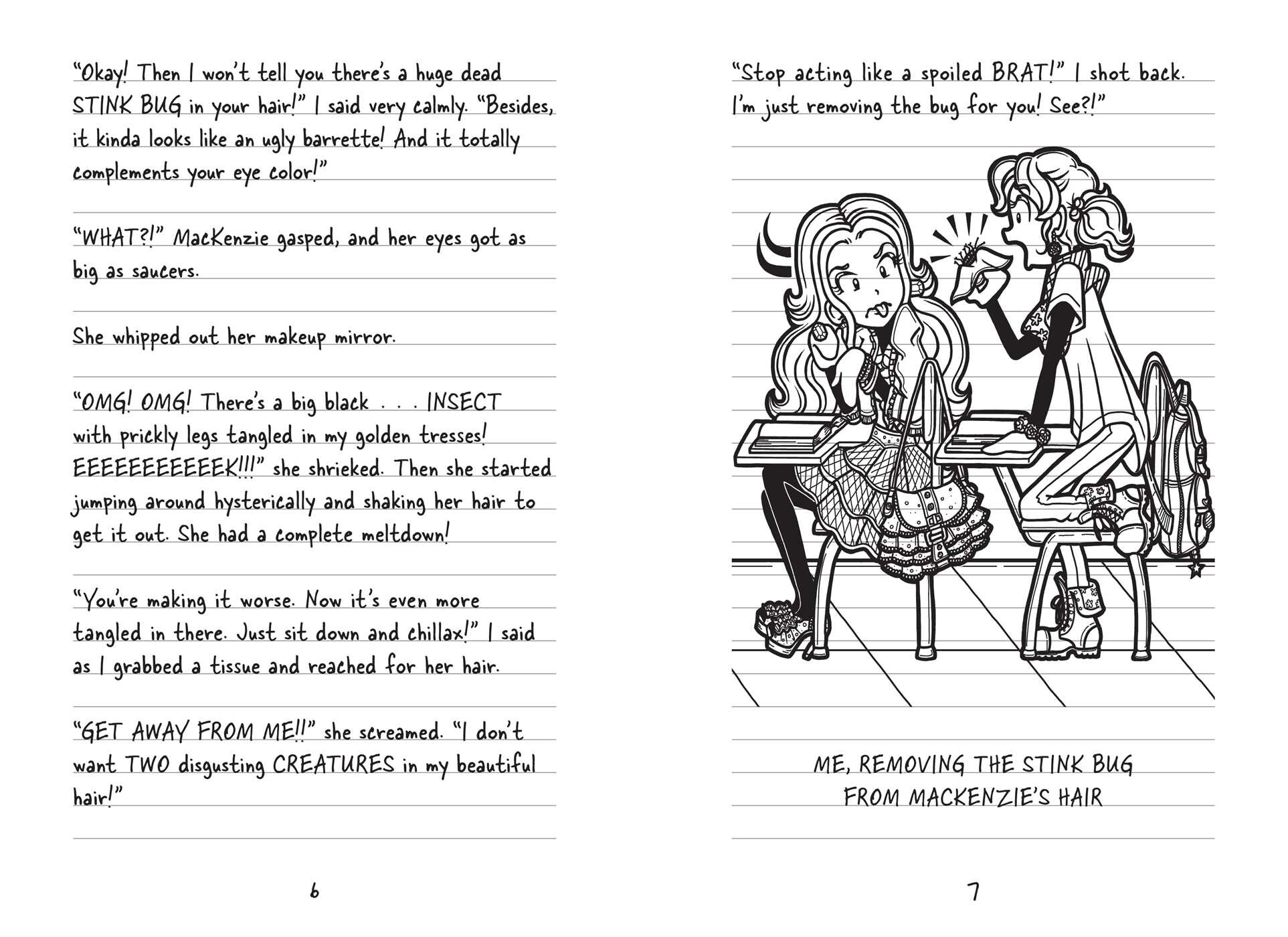 Coloring pages for dork diaries -  Dork Diaries 9 9781442487697 In04