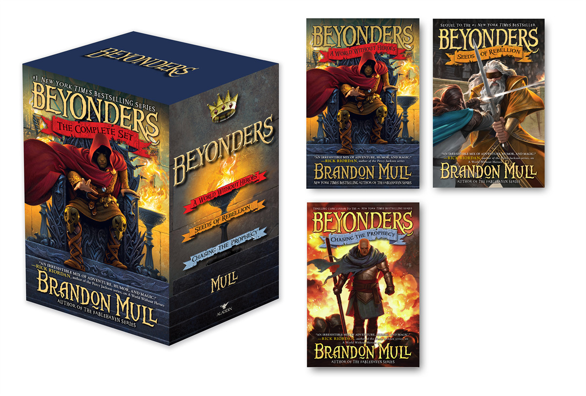 Beyonders the complete set 9781442494428.in01