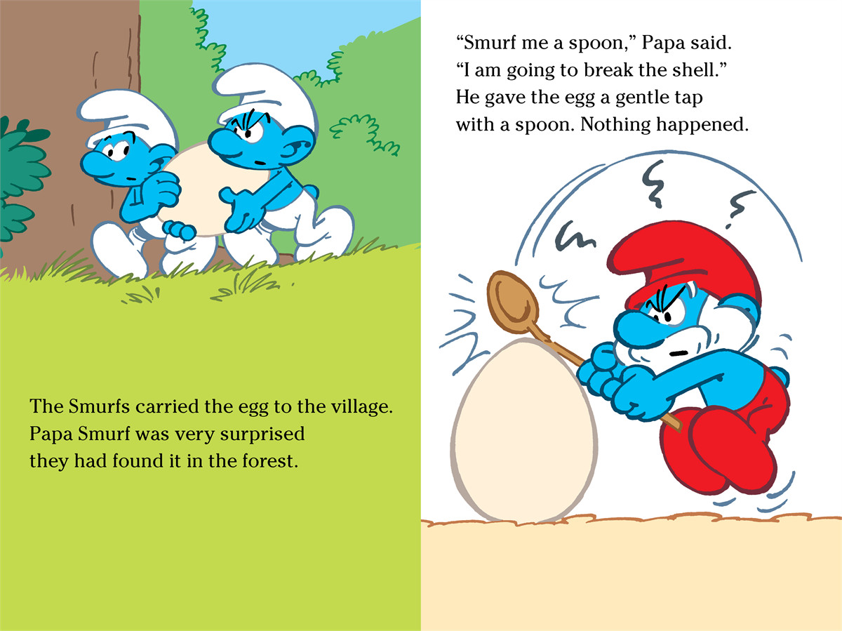 The smurfs and the magic egg 9781442495708.in01