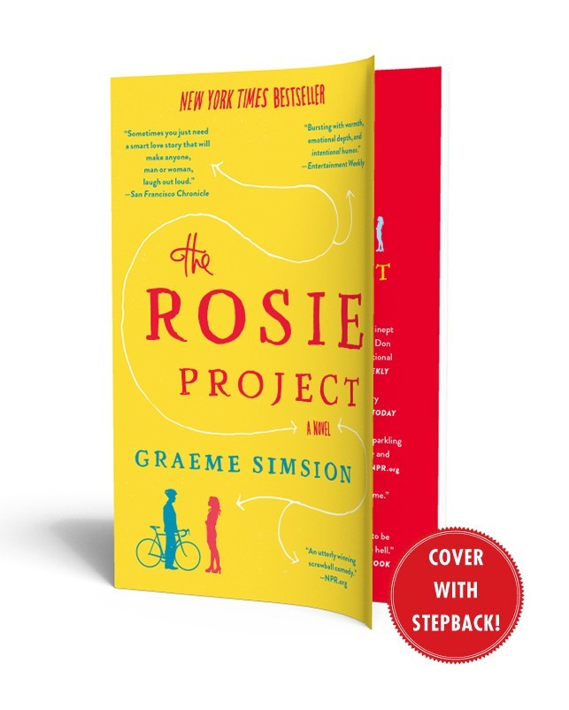 The Rosie Project   Book by Graeme Simsion   Official Publisher     Simon   Schuster Cvr                            hr  The rosie project               in
