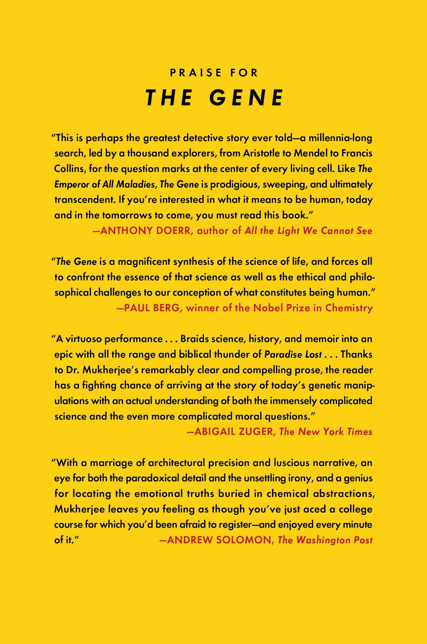 The Gene  Book By Siddhartha Mukherjee  Official Publisher Page  Simon &  Schuster