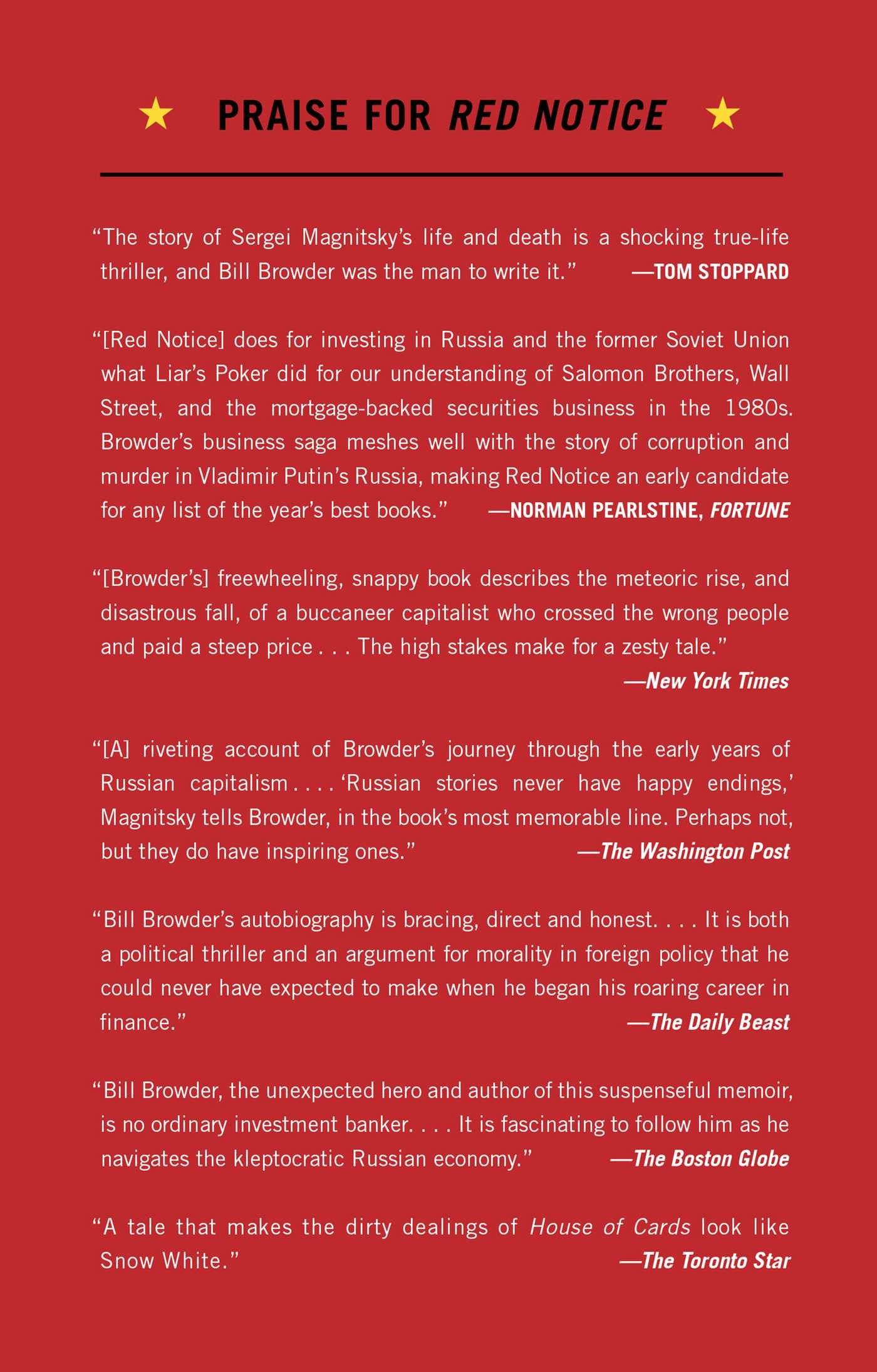 Red Notice  Book By Bill Browder  Official Publisher Page  Simon &  Schuster Canada