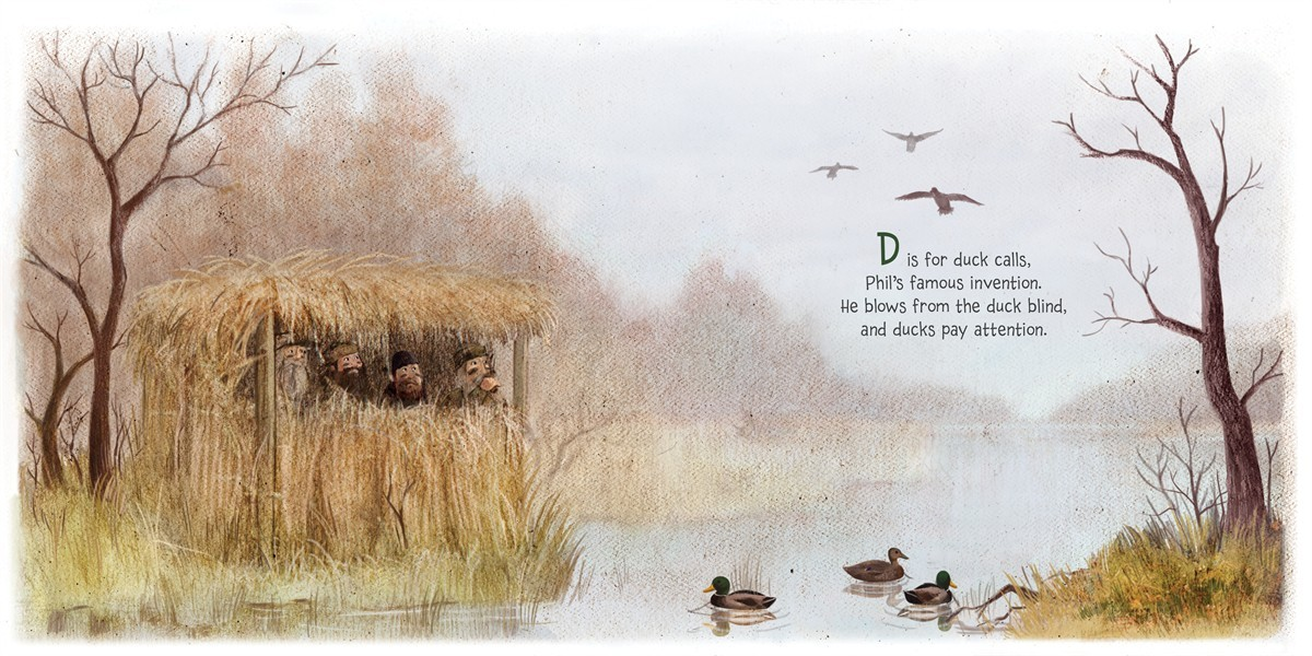 D is for duck calls 9781481418195.in04