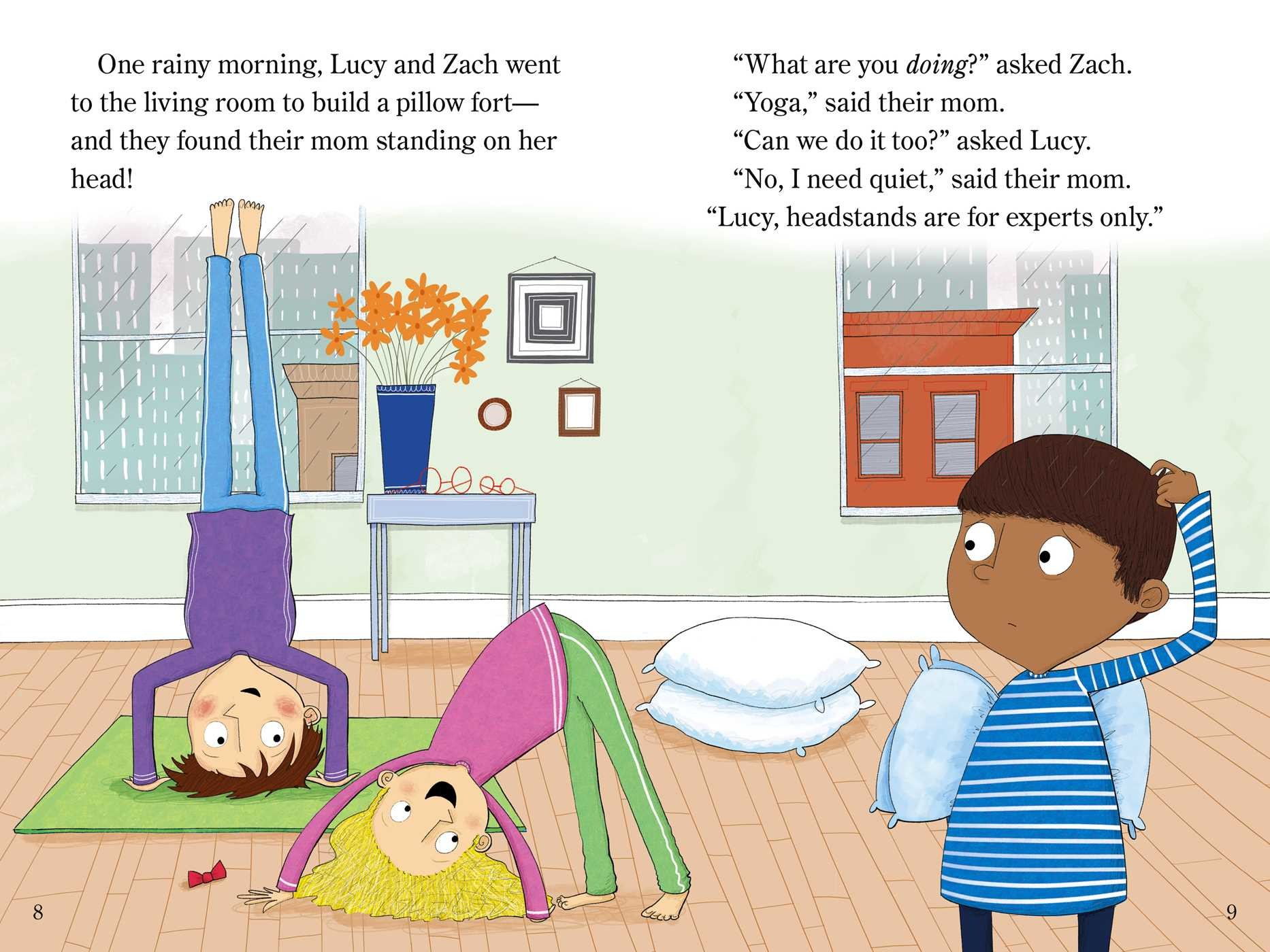 Zach and lucy and the yoga zoo 9781481439381.in02