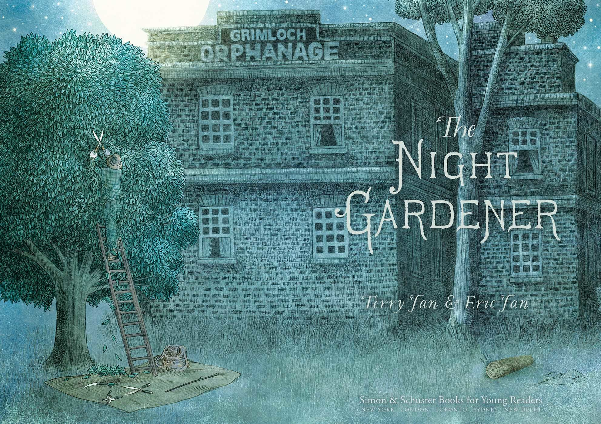 the night gardener book by terry fan eric fan official publisher page simon schuster
