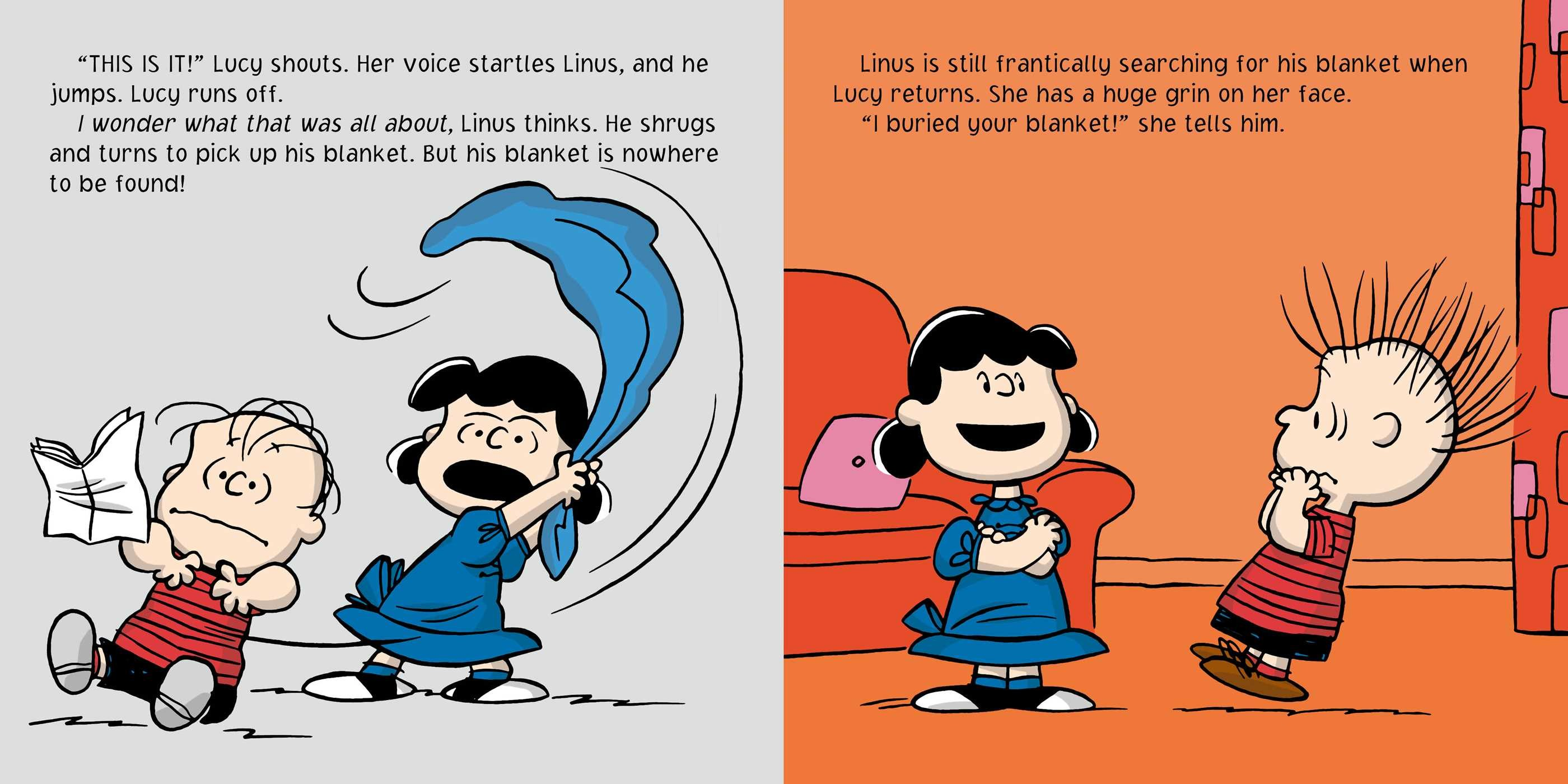 Lose the Blanket Linus  Book by Charles M Schulz Tina Gallo