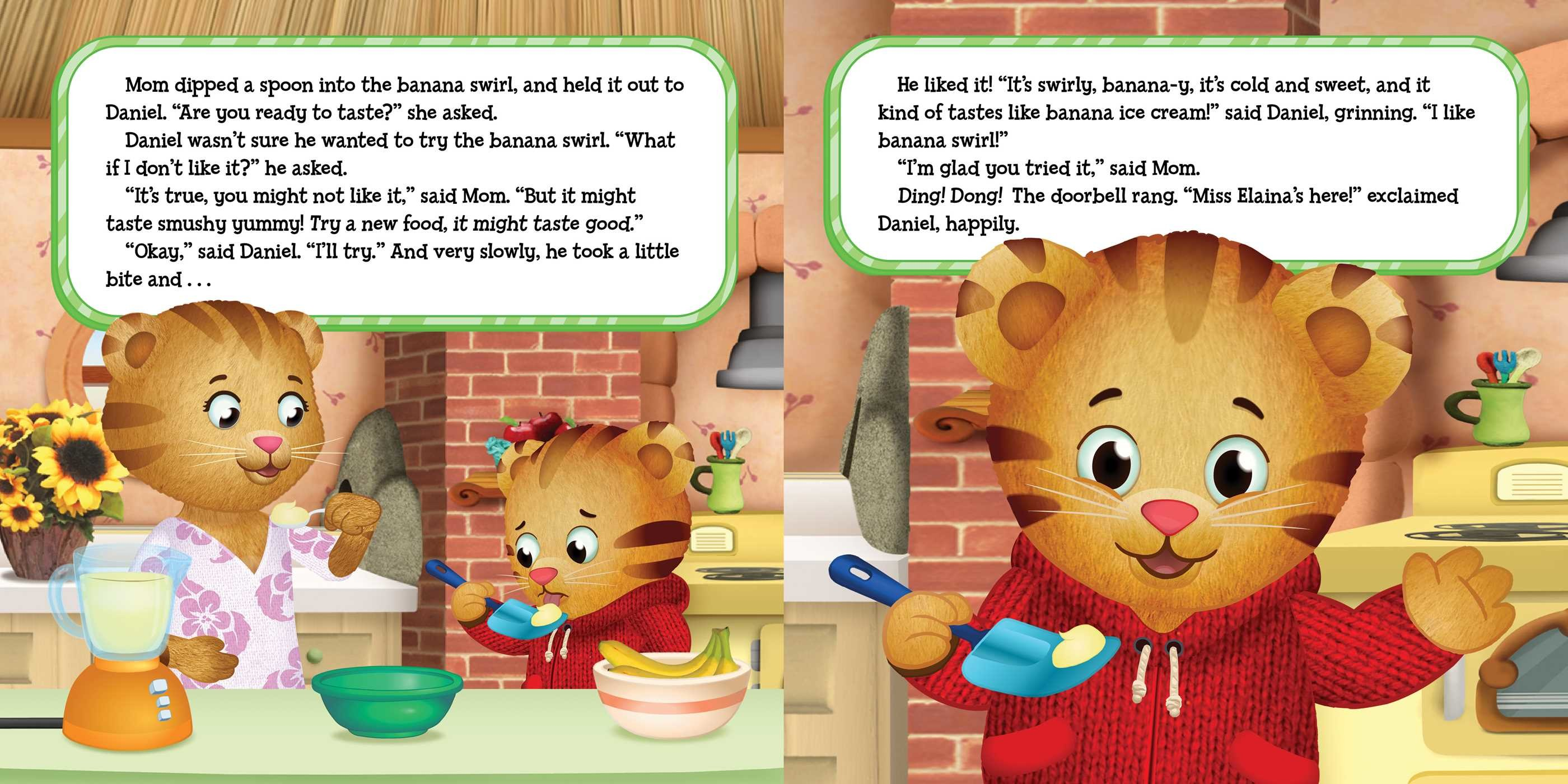 Daniel Tiger Try New Food Episode