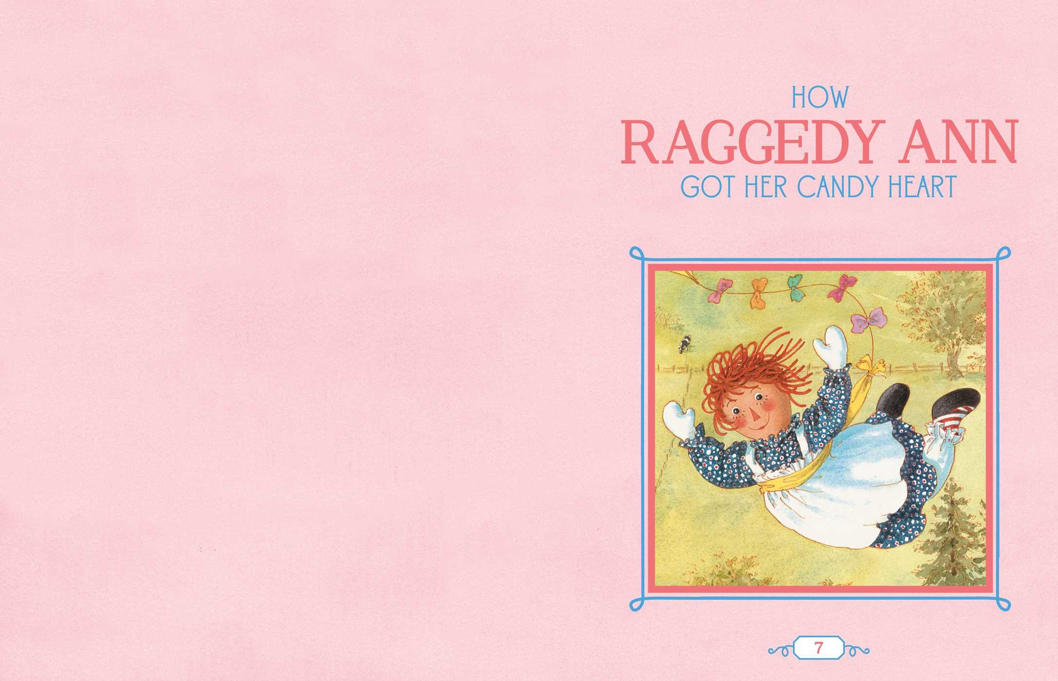 the raggedy ann 100th anniversary treasury book by johnny