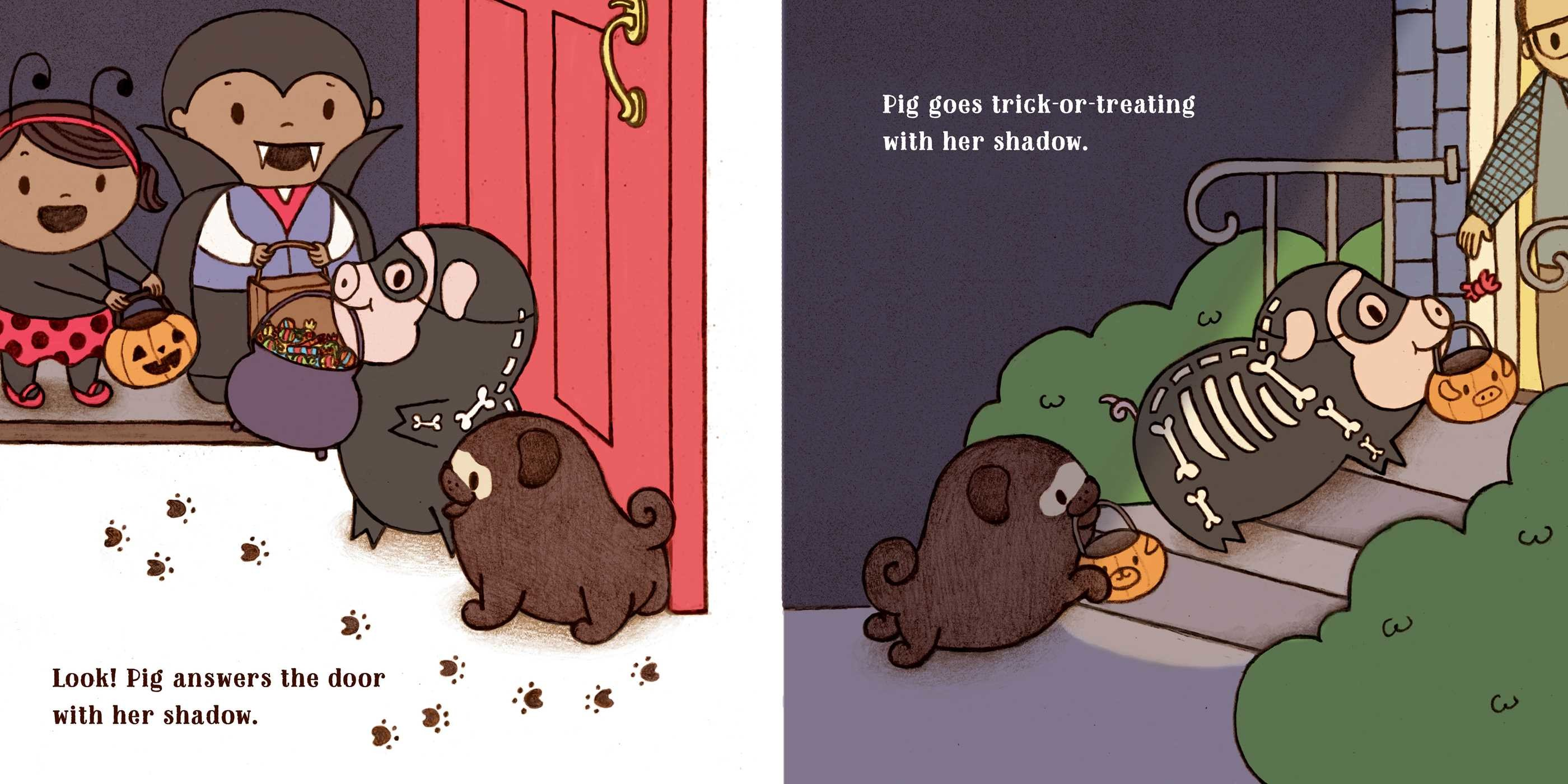 Pug and pig trick or treat 9781481449779.in04