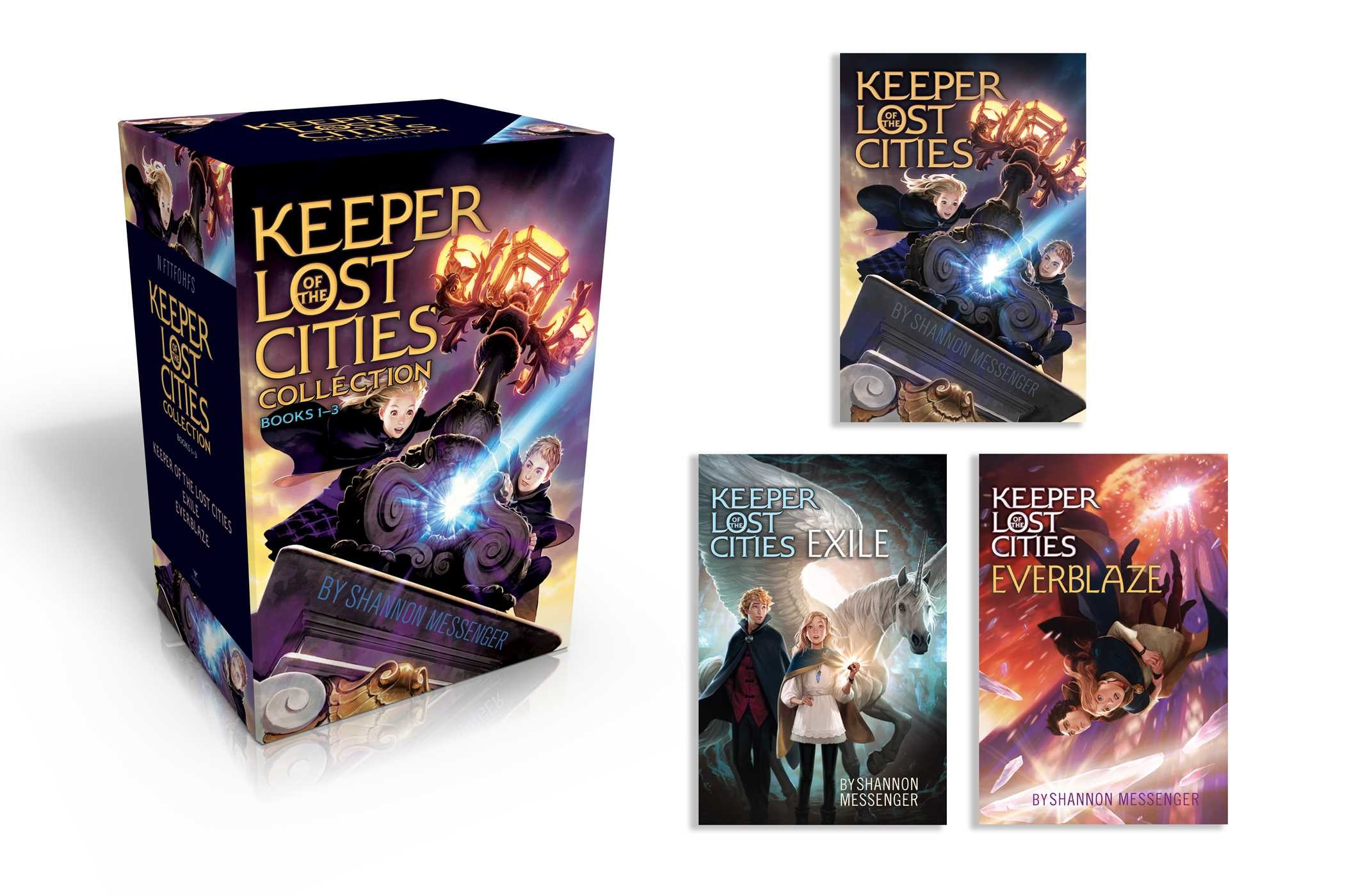 Keeper Of The Lost Cities Collection Books 1 3 978148145112301