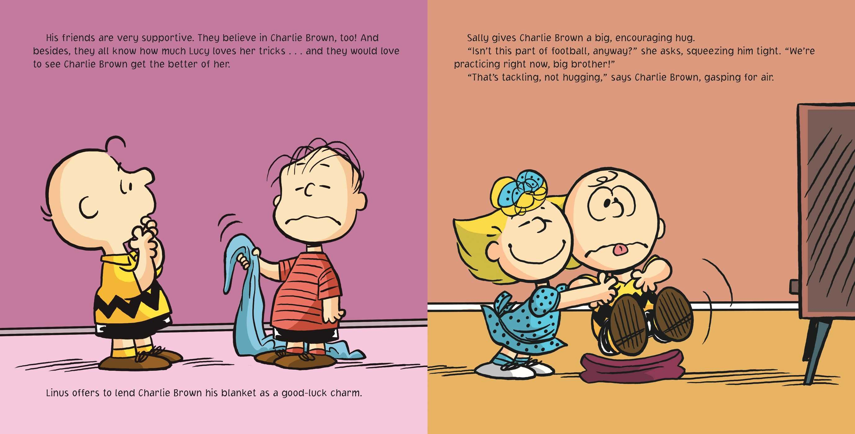 Kick the football charlie brown book by charles m - Charlie brown bilder ...
