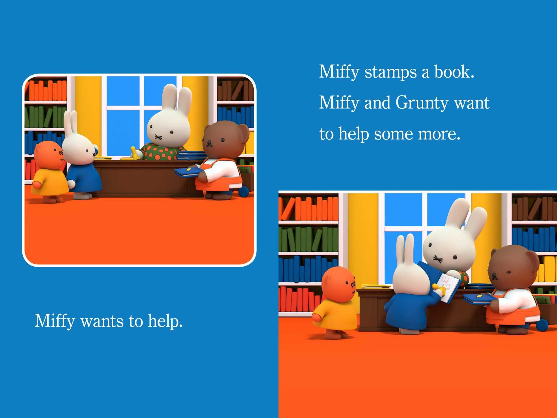 Miffy at the library 9781481469319.in01