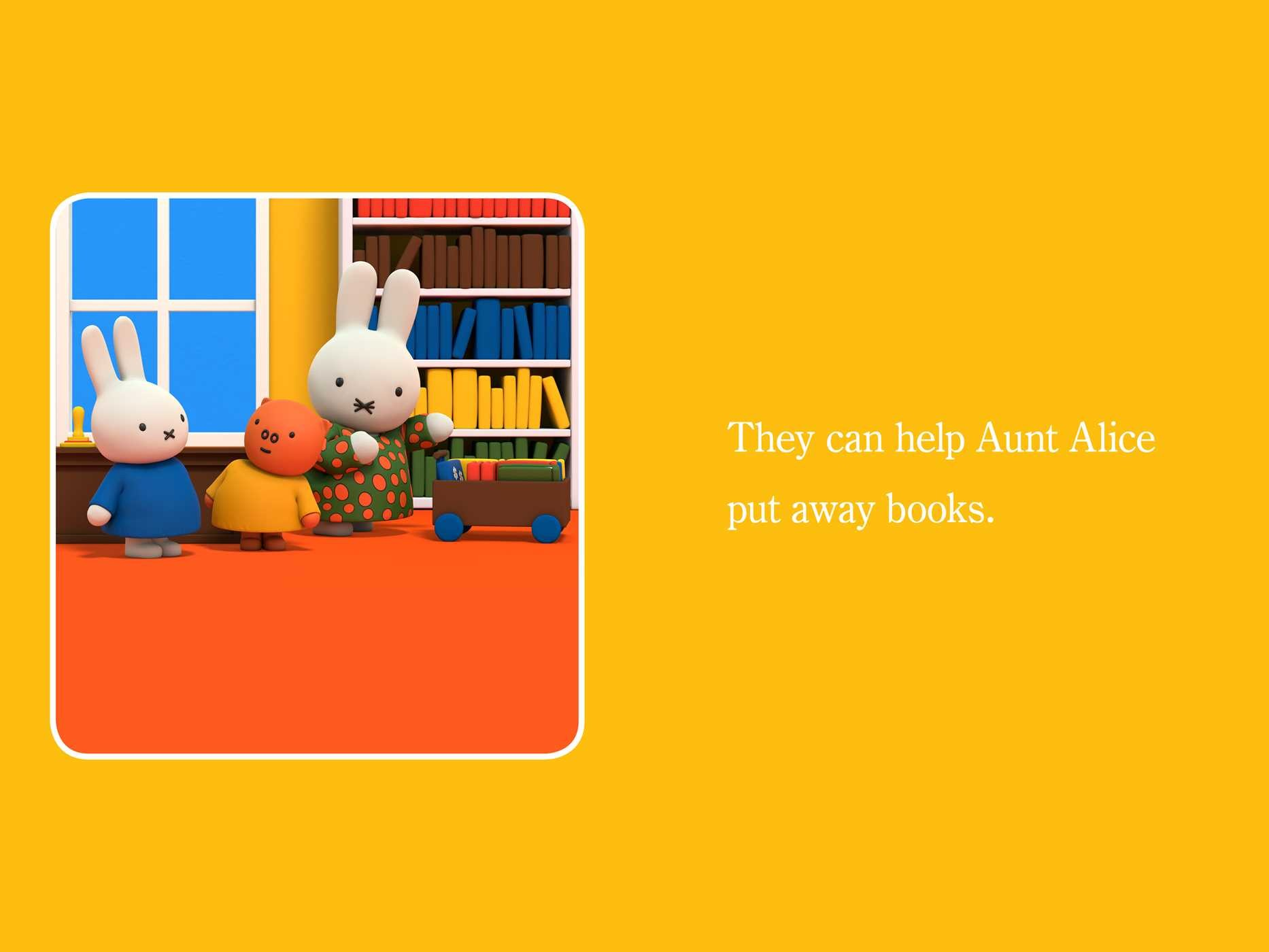Miffy at the library 9781481469319.in02