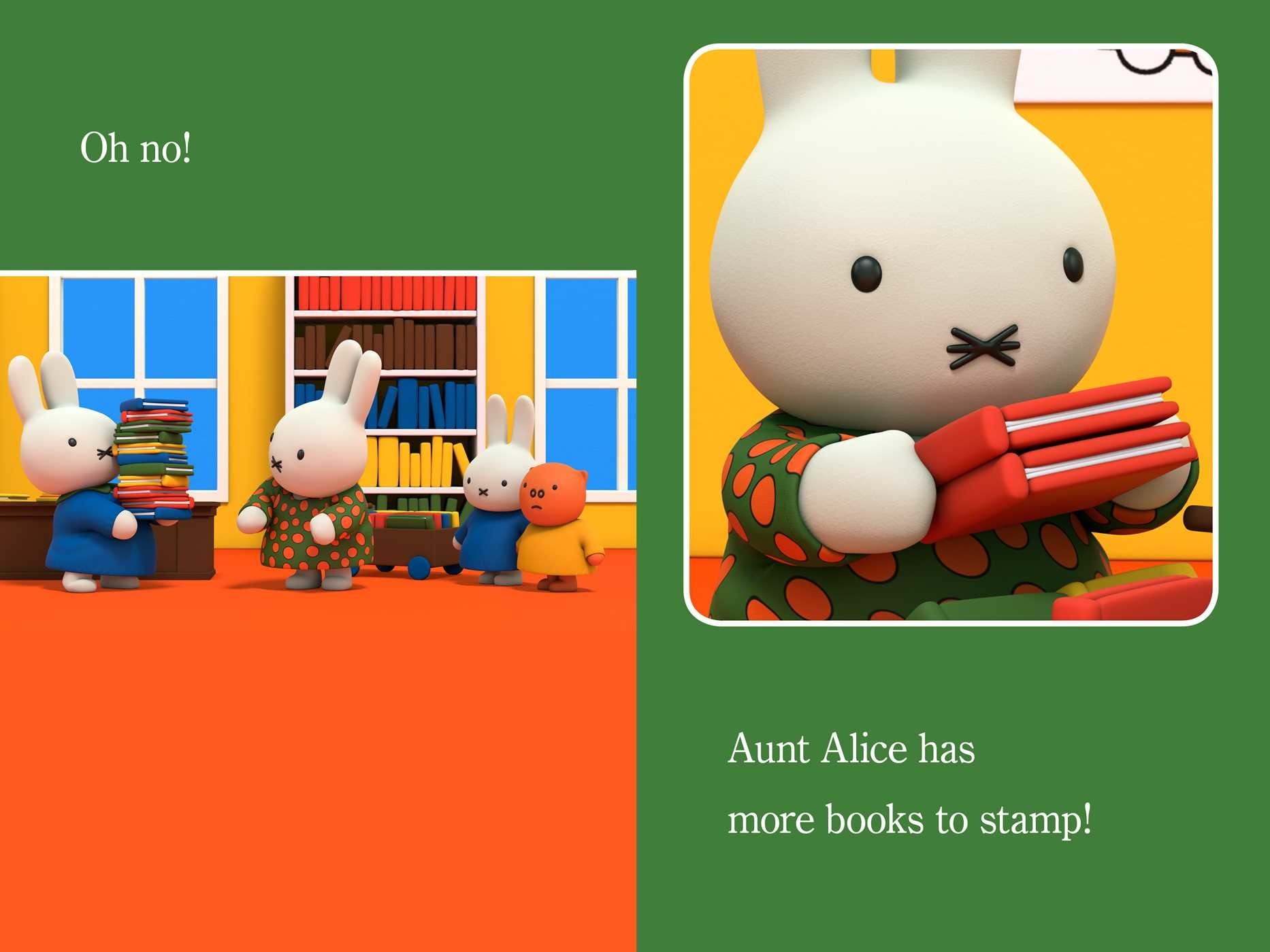 Miffy at the library 9781481469319.in03