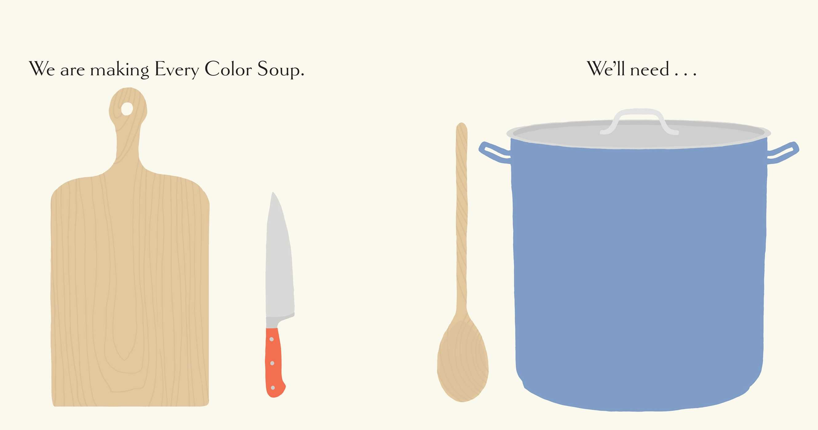 Every Color Soup Book by Jorey Hurley