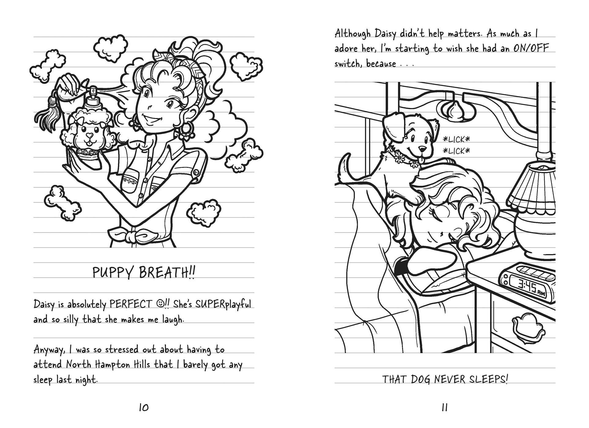 Coloring pages for dork diaries -  Dork Diaries 11 9781481479202 In02