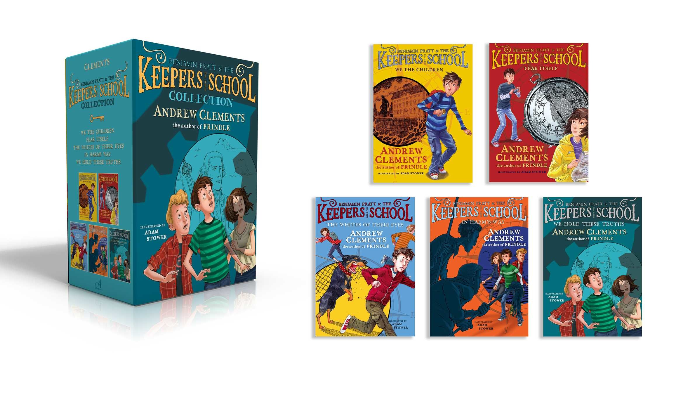 Keepers of the school boxed set 9781481487061.in01